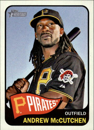 Photo of 2014 Topps Heritage #160A Andrew McCutchen