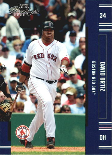 Photo of 2005 Playoff Prestige #134 David Ortiz