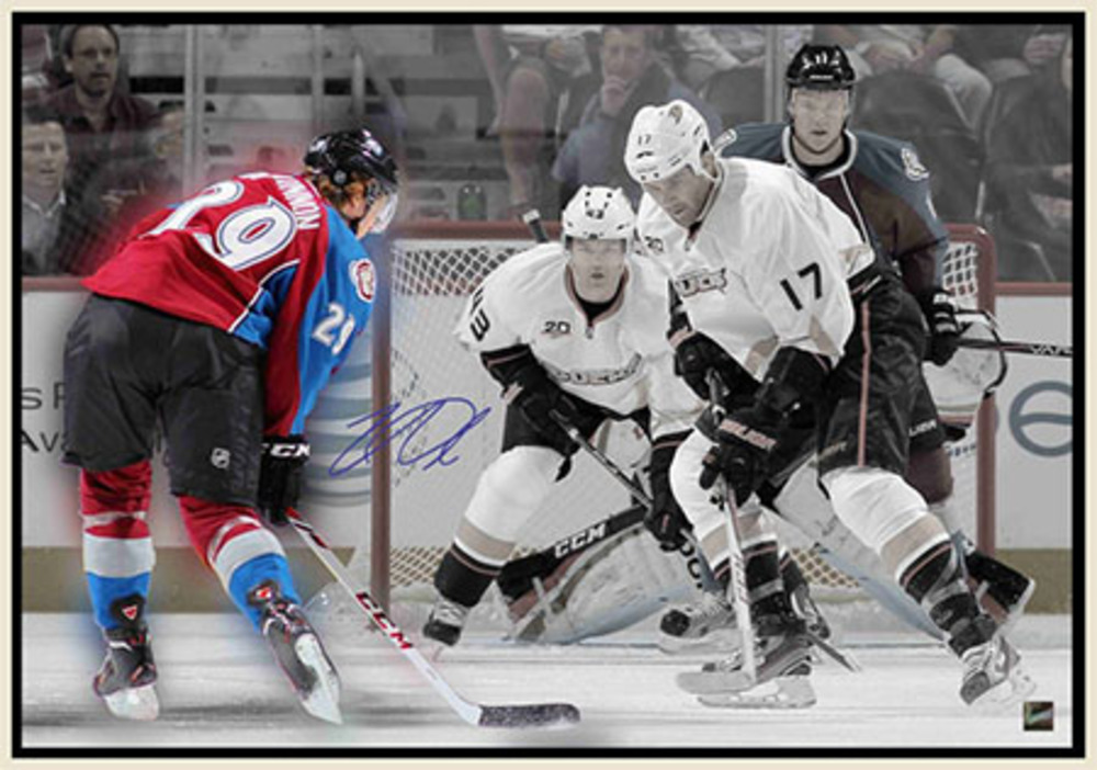 Nathan MacKinnon - Signed & Framed 20x29