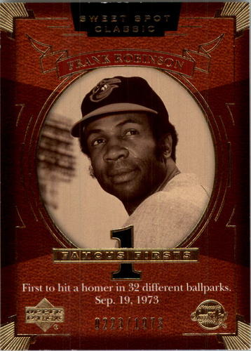 Photo of 2004 Sweet Spot Classic #107 Frank Robinson FF/1973