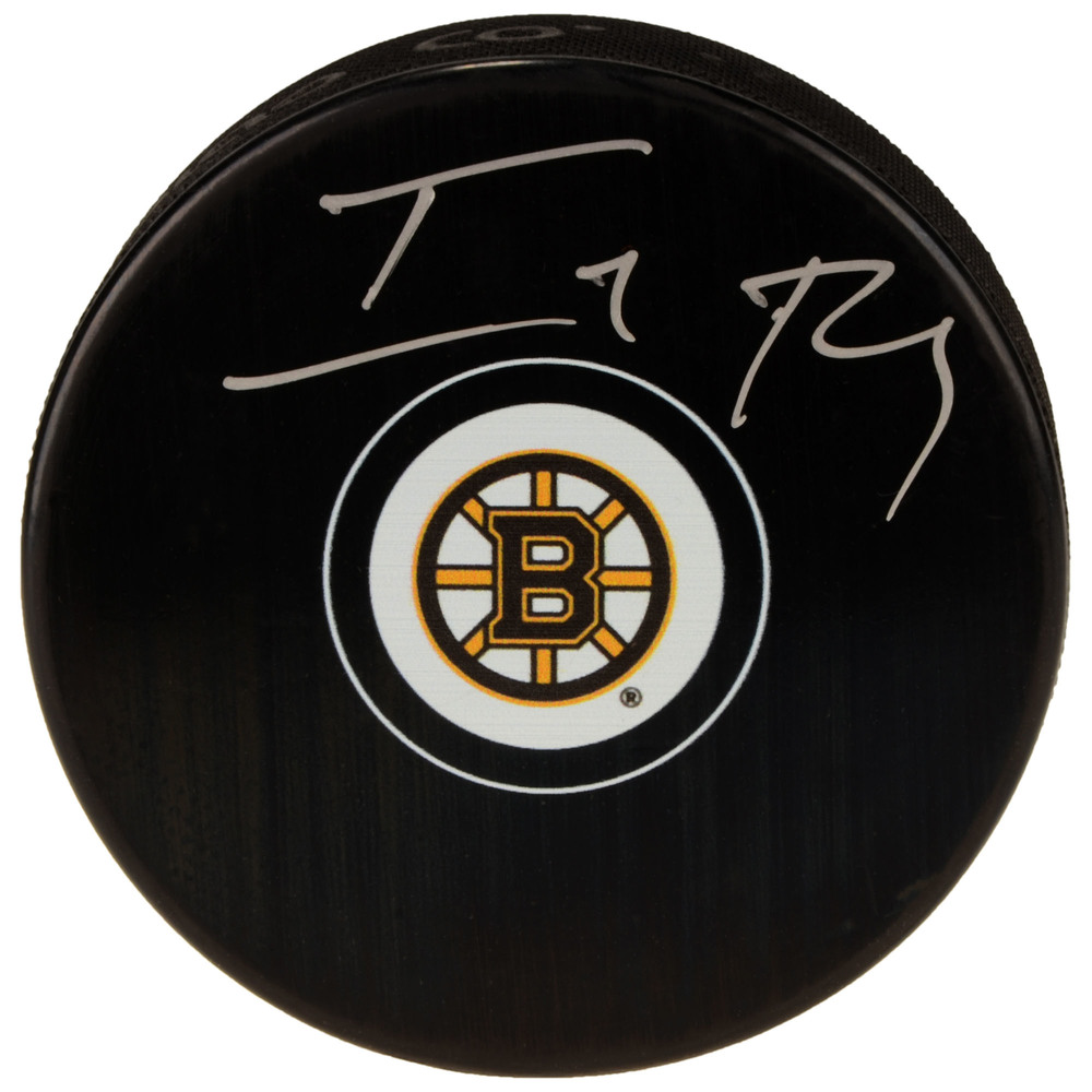 Isaiah Thomas Boston Celtics Autographed Boston Bruins Hockey Puck