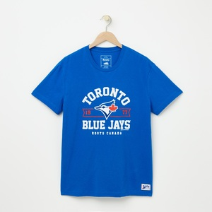 Toronto Blue Jays Banner T-Shirt Royal by Roots