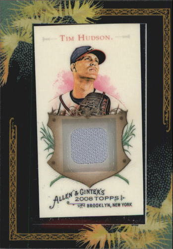 Photo of 2008 Topps Allen and Ginter Relics #TH Tim Hudson Jsy C