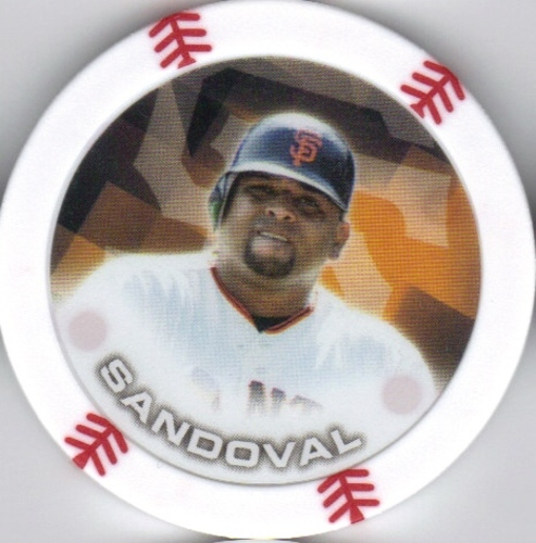 Photo of 2014 Topps Chipz #84 Pablo Sandoval