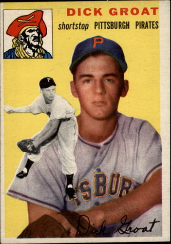 Photo of 1954 Topps #43 Dick Groat