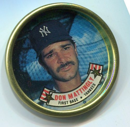 Photo of 1988 Topps Coins #19 Don Mattingly