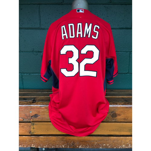 Photo of Cardinals Authentics: Matt Adams Game Worn Red Jersey