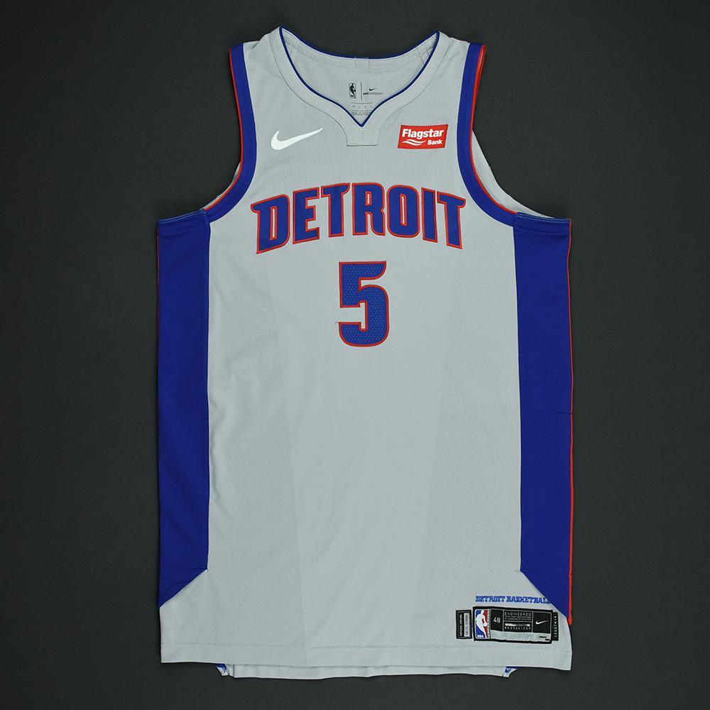Luke Kennard - Detroit Pistons - Statement Game-Worn Jersey  - 2017-18 Season