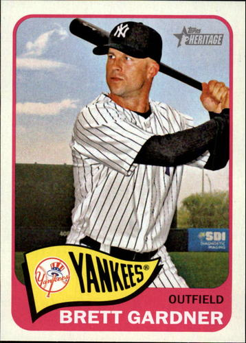 Photo of 2014 Topps Heritage #161 Brett Gardner