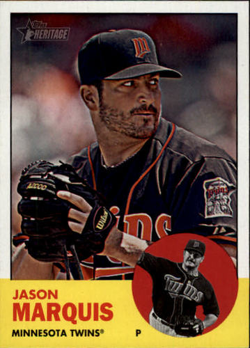 Photo of 2012 Topps Heritage #281 Jason Marquis