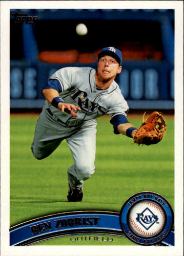 Photo of 2011 Topps #27 Ben Zobrist