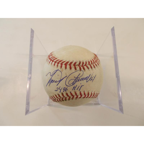 Photo of Autographed Game-Used Baseball: Miguel Cabrera 2,496 Career Hit