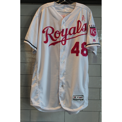 Photo of Joakim Soria Game-Used Mother's Day Jersey 5/14/17 (Size 46)