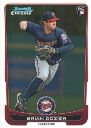 Photo of 2012 Bowman Chrome Draft #39 Brian Dozier  Rookie Card