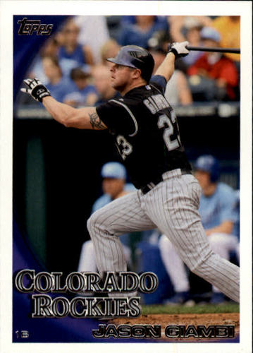 Photo of 2010 Topps Update #US71 Jason Giambi