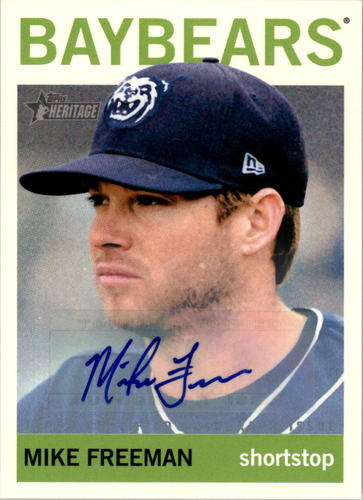 Photo of 2013 Topps Heritage Minors Real One Autographs #MF Mike Freeman
