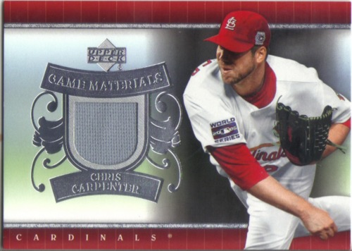 Photo of 2007 Upper Deck UD Game Materials #CA Chris Carpenter Jsy S1