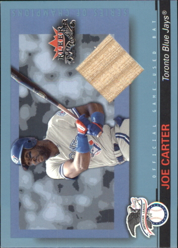 Photo of 2002 Fleer Fall Classics Series of Champions Game Used #JC Joe Carter Bat