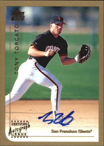 Photo of 1999 Topps Traded Autographs #T31 Tony Torcato