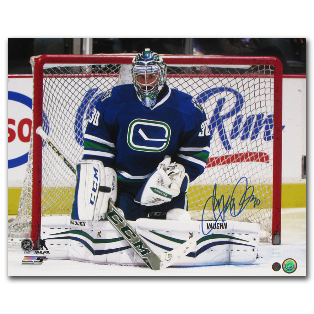 Ryan Miller Autographed Vancouver Canucks 16X20 Photo