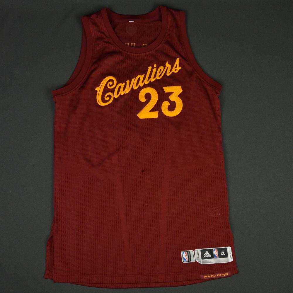 LeBron James - Cleveland Cavaliers - NBA Christmas Day '16 - Game-Worn Jersey