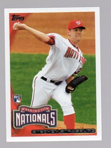 Photo of 2010 Topps #661B Stephen Strasburg FS