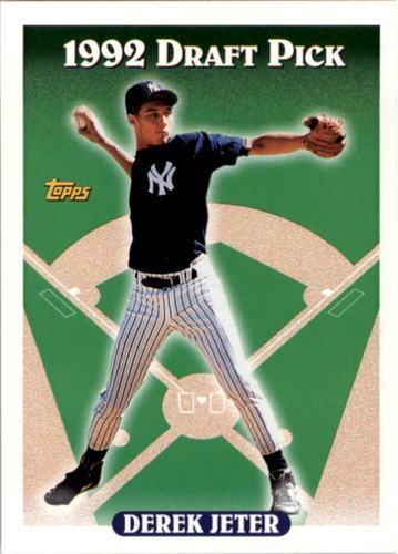 Photo of 1993 Topps #98 Derek Jeter Rookie Card