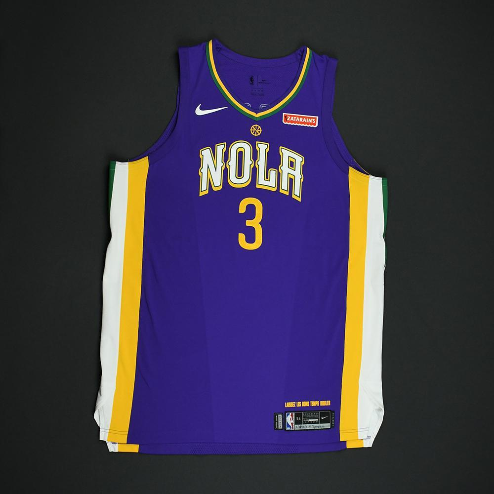 Nikola Mirotic - New Orleans Pelicans - Game-Worn 'City' Jersey - 2017-18 Season - Double-Double