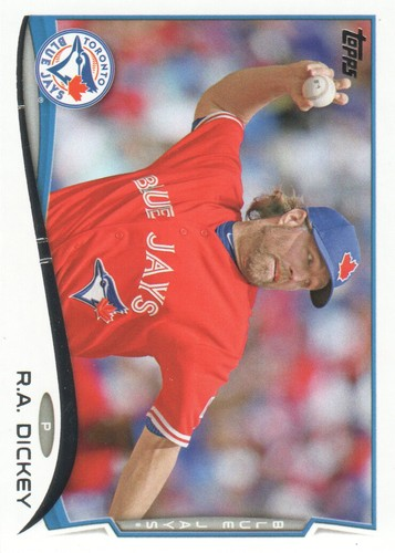 Photo of 2014 Topps #421 R.A. Dickey