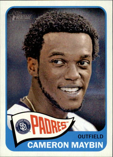 Photo of 2014 Topps Heritage #162 Cameron Maybin