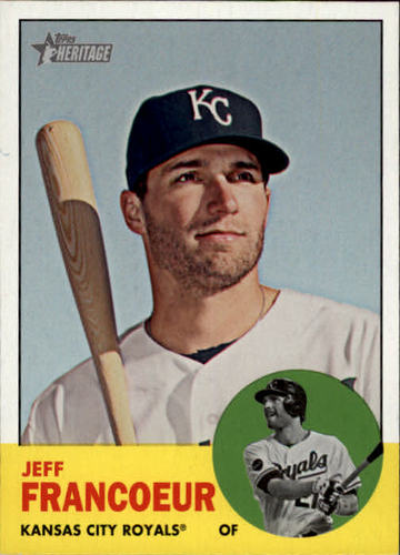 Photo of 2012 Topps Heritage #282A Jeff Francoeur