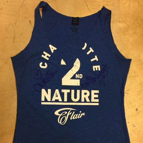 "Photo of Charlotte WORN & SIGNED ""2nd Nature"" T-Shirt (RAW - 03/14/16)"