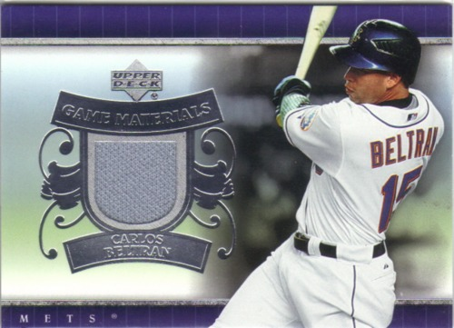 Photo of 2007 Upper Deck UD Game Materials #CB Carlos Beltran Pants S1