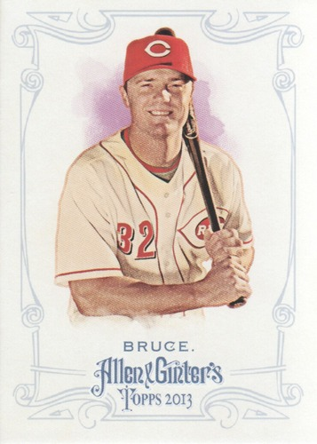 Photo of 2013 Topps Allen and Ginter #122 Jay Bruce