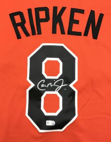 Cal Ripken Jr. Autographed Orioles Cooperstown Collection Jersey
