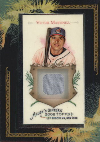 Photo of 2008 Topps Allen and Ginter Relics #VM Victor Martinez Jsy C