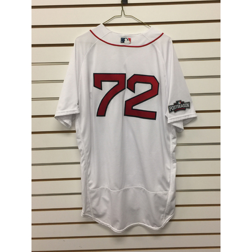 Photo of Robby Scott Game-Used September 18, 2016 Home Jersey