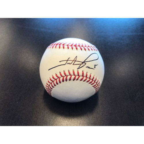 Giants End of Year Auction: Hunter Pence Autographed Baseball