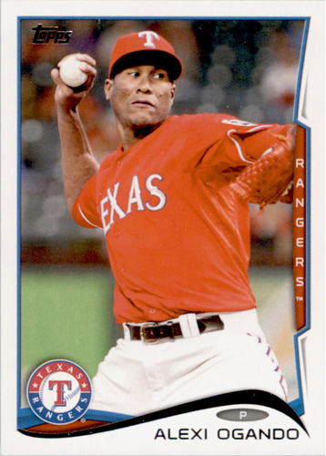 Photo of 2014 Topps #422 Alexi Ogando