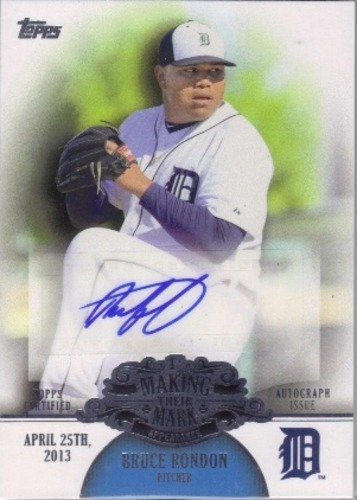 Photo of 2013 Topps Making Their Mark Autographs #BR Bruce Rondon