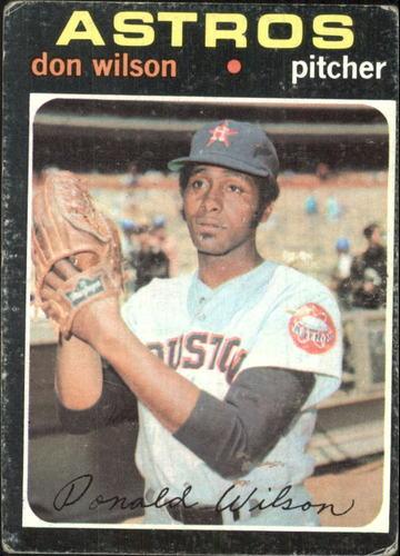 Photo of 1971 Topps #484 Don Wilson
