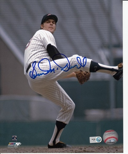 "Photo of ""Sudden"" Sam McDowell Autographed 8x10"