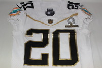 NFL - DOLPHINS RESHAD JONES 2016 TEAM RICE GAME ISSUED PRO BOWL JERSEY - SIZE 38