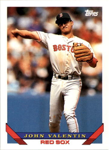 Photo of 1993 Topps #424 John Valentin