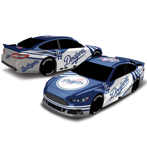 Photo of UMPS CARE AUCTION: Los Angeles Dodgers Lionel Racing MLB 1:18 Scale Stock Car