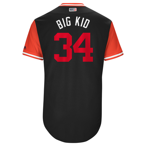 "Photo of Bryce ""Big Kid"" Harper Washington Nationals Team-Issued Players Weekend Jersey"