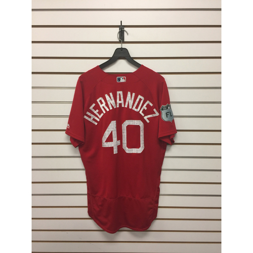 Marco Hernandez Team-Issued 2017 Spring Training Jersey