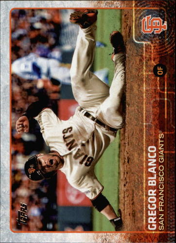 Photo of 2015 Topps #611 Gregor Blanco