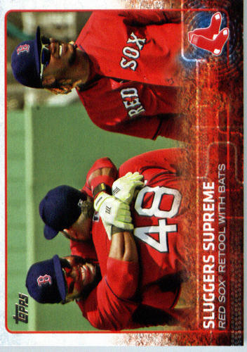 Photo of 2015 Topps Update #US241 Sluggers Supreme/David Ortiz/Pablo Sandoval/Hanley Ramirez