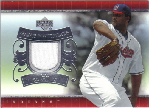 Photo of 2007 Upper Deck UD Game Materials #CS C.C. Sabathia Jsy S1